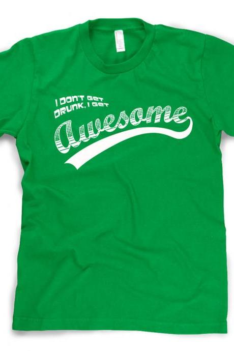 Awesome Drunk t shirt drinking shirt S-3XL