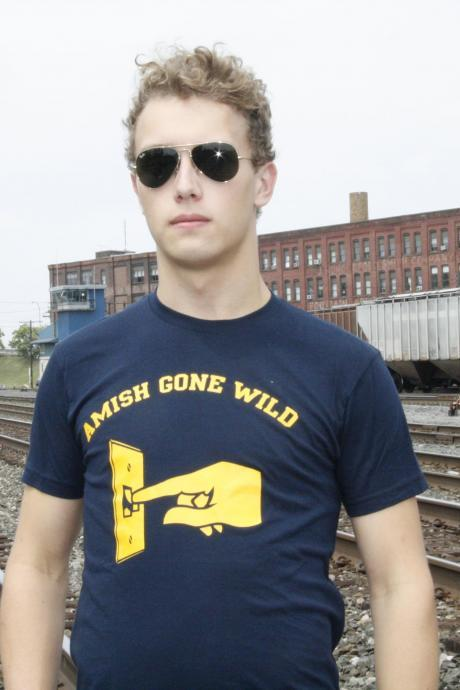 Amish Gone Wild t shirt S-4XL
