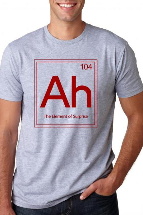 Ah periodic element of surprise t shirt S-4XL