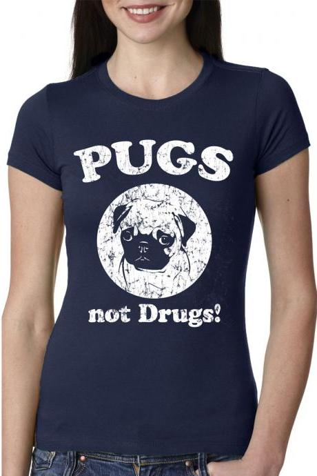 Funny Pug T Shirt funny Dog shirt sizes S-3XL