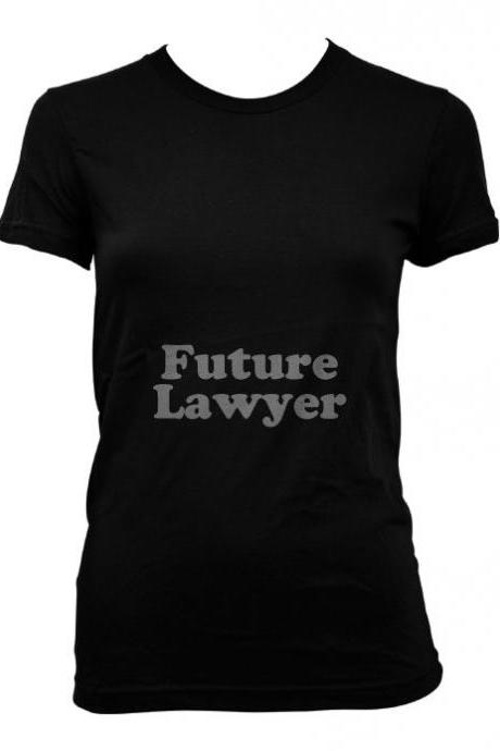Future Lawyer Maternity t shirt funny pregnancy shirt S-4XL