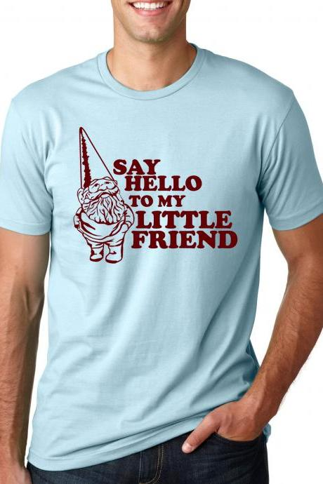 Gnome Friend t shirt funny Gnome shirt S-4XL