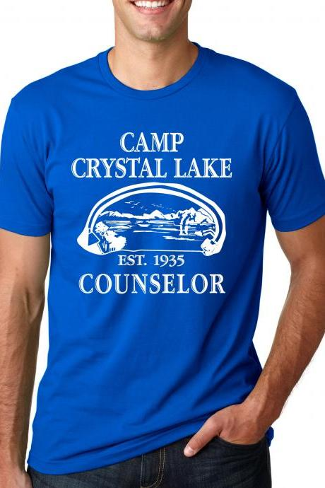 Camp Crystal Lake t shirt cool shirt S-4XL