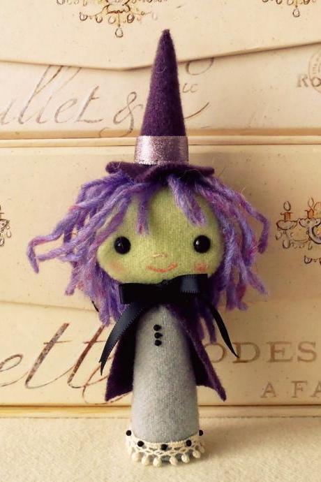 Halloween Witch Pattern