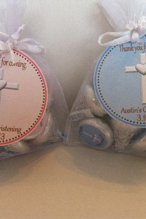 Christening Organza Favor Bags