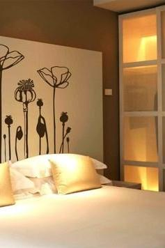New POPPY FLOWER Deco Mural Art Wall Sticker Decal