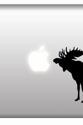 Moose Silhouette hunter window vinyl wall decals Hunt Rack Car stickers
