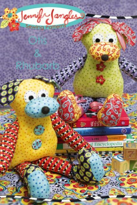 Otis and Rhubarb Pattern by Jennifer Jangles