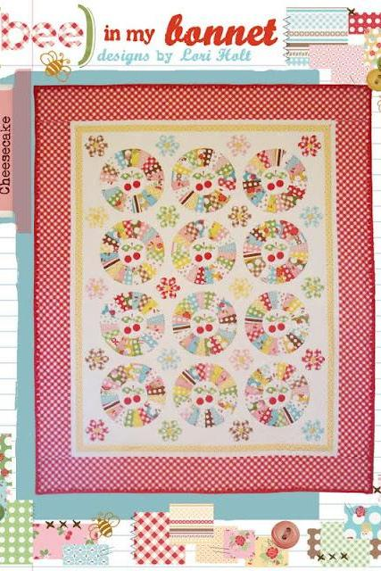 Cherry Cheesecake Quilt Pattern from Bee in my Bonnet