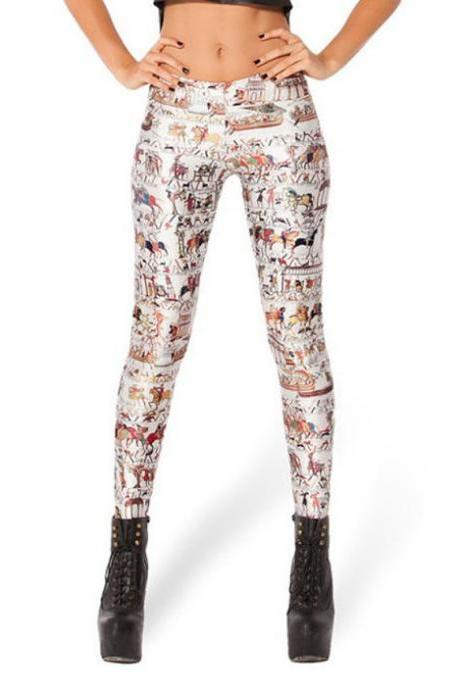 SHIP FROM NY - Super Sale - Tapestry print Leggings