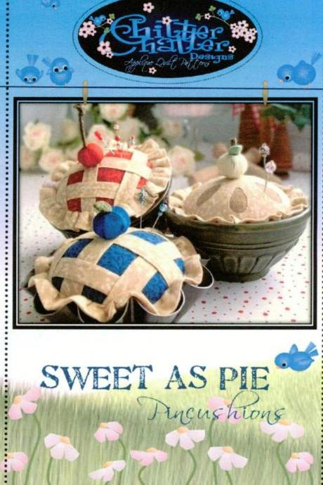 Sweet as Pie Pincushion Pattern by Chitter Chatter Designs