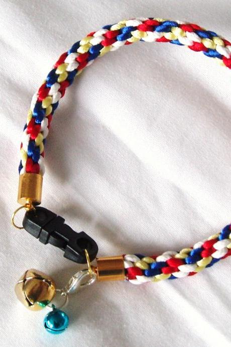 Cat Collar With Bell Charm