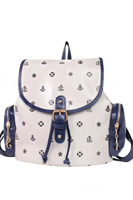 Totem Little Anchor Backpack-white