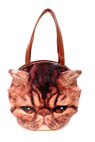 Coffee Cat Shoulder Bag