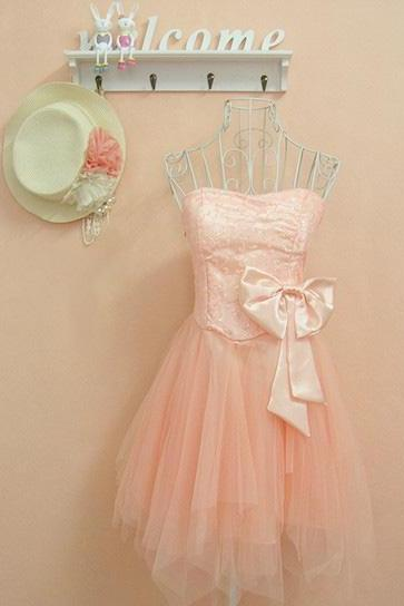 Sweet sequined bow dress-556 A 083126