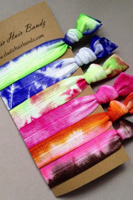 The Ziggy Hair Tie - Ponytail Holder Collection by Elastic Hair Bandz on Etsy