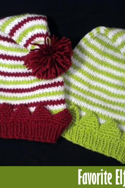 Favorite Elf Hat Knitting Pattern