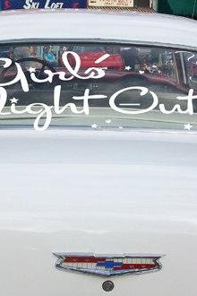 Bachelorette Car Decals Girls Night Out 2