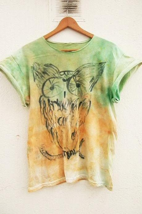 Hand Painted Custom Design T-Shirt