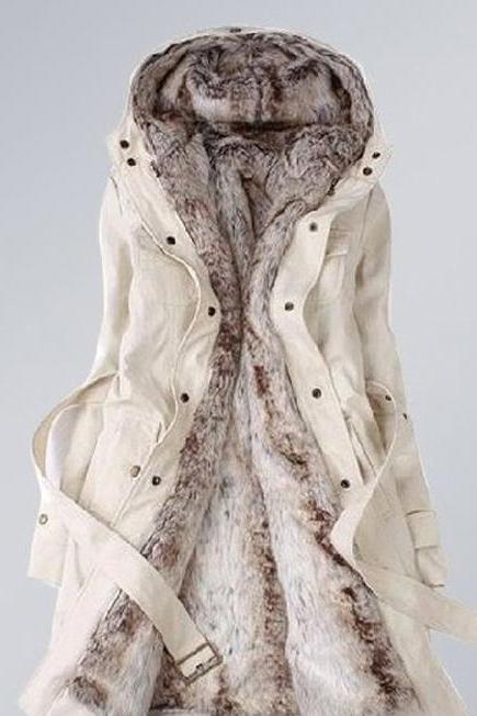 Cool Coat in Beige