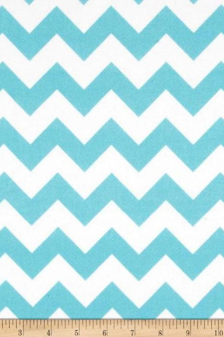 Baby Flannel Chevron Print Fitted Crib Sheet Various Colors