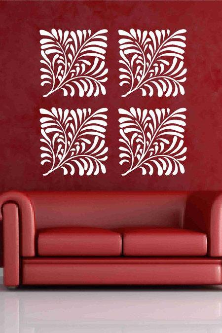 Fern Leaves Decal vinyl stickers