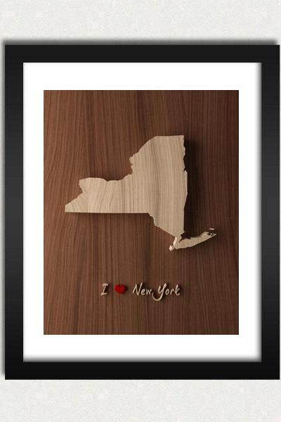 Personalized State / Country Love Wood Engraved Sign Printable - Digital Download - Size 8x10 - Perfect Gift Idea