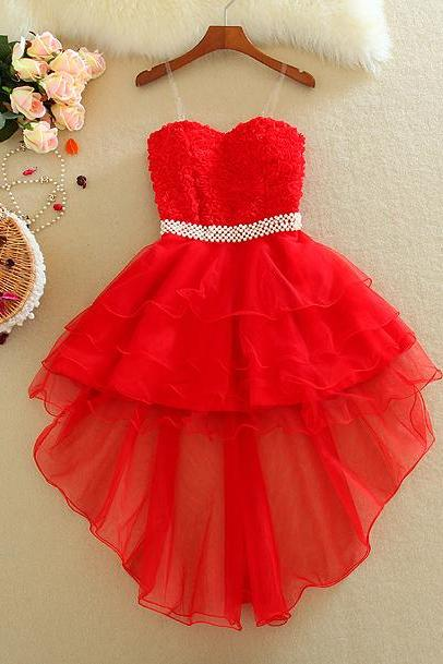 Cute Strapless Dress