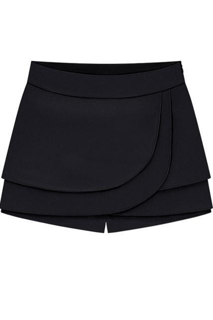 Fashion New High Waisted Shorts for Woman - Black
