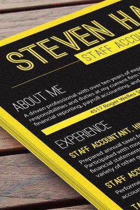 A Trendy Resume - New York State