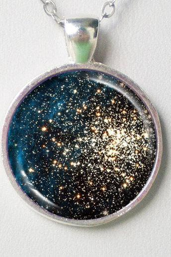 Cosmic Necklace -Double Clusters of Stars (NGC 1850)- Galaxy Series