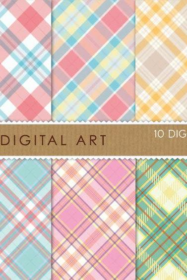 Digital Papers - Plaid Shirts