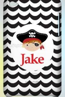 Pirate Personalized iPod Case