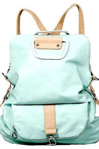 Unique Fresh Multifunction Backpack &Handbag