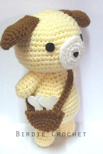 School Teddy Bear - Finished Handmade Amigurumi Crochet Doll Home Decor Birthday Gift Baby Shower Toy