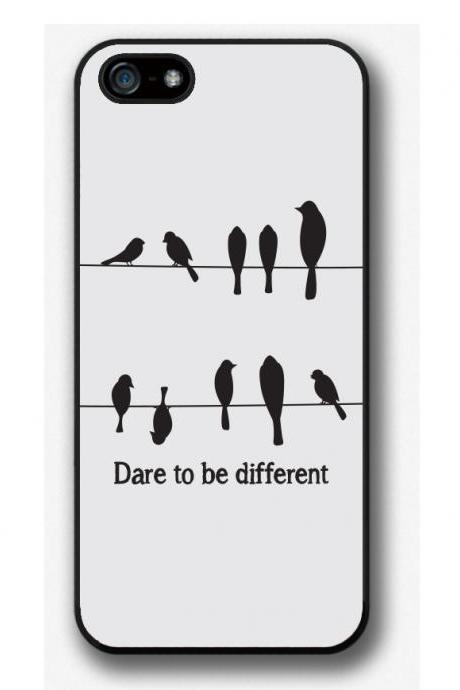 iPhone 4 4S 5 5S 5C 6 6 Plus case, iPhone 4 4S 5 5S 5C 6 6 Plus cover, Dare to be Different