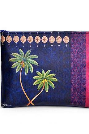 India Circus Tamara Grooving Palms Utility Pouch, Perfect Gift Cycle Ride Hand Bag for Unisex Adult. Your BF, GF, Husband, Wife will love it.
