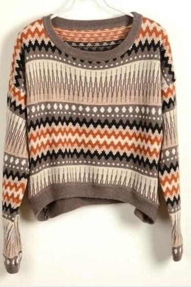 Tribe Loose Sweater