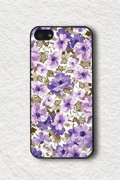 iphone Case for iphone 4, iphone 4s, iphone 5, iphone 5s, iphone Cover, Protecive iphone case - Charming Floral Pattern