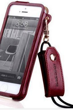 Luxury Leather Case For iPhone 5 (7 Colors)