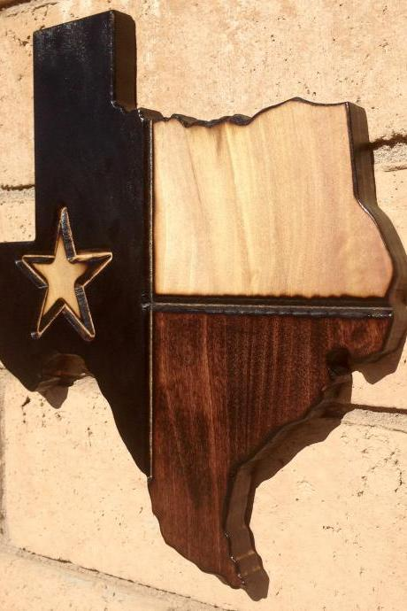 Texas State Wood Sign