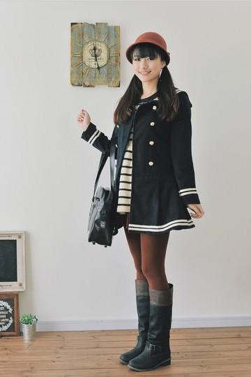 Sailor Navy Coat