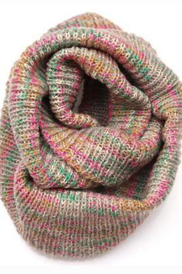 *free ship* colorful cowl scarf