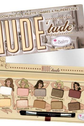 The Balm NUDE 'tude Eyeshadow (Naughty Palette)