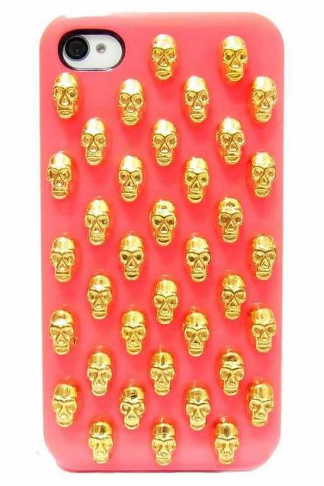 iphone 4 case,iphone 4s case, iphone 5s case,Skull iphone 5 case,Bronze iphone 5s case,Skull iphone 4s case,Skull iphone 5s case