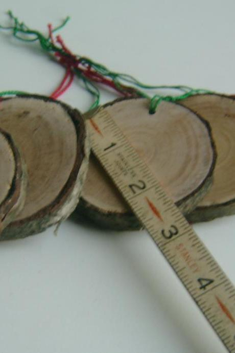 10 Tree Branch Ornaments