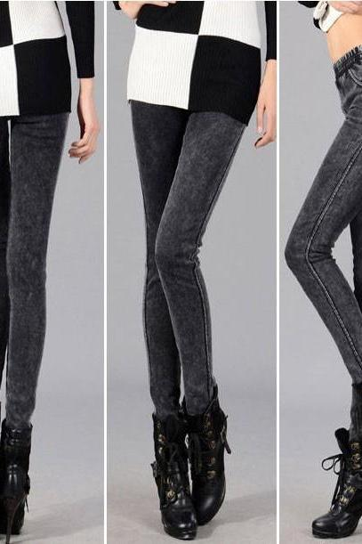 Warm Fashion Girl Thickening Leggings