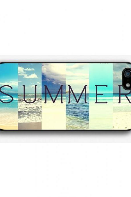 iPhone 4 4S 5 5S 5C case, iPhone 4 4S 5 5S 5C cover, Summer