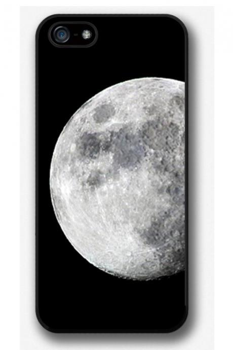 iPhone 4 4S 5 5S 5C case, iPhone 4 4S 5 5S 5C cover, Moon