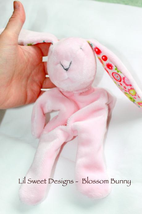 Softie Bunny Rabbit, Security Blanket, Toy Blanket, Buddy